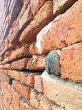 Texturera av tegelstenväggen Fotografering för Bildbyråer