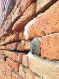 Texturera av tegelstenväggen Royaltyfri Bild