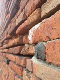 Texturera av tegelstenväggen Royaltyfria Foton