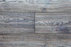 Texturera den blåa ljusa parketten med skugga, som abstrakt, texturerar bakgrund, bästa sikt Materiellt trä, ek, lönn Royaltyfria Foton