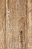 Texturera den gamla plankan med gammal målarfärg för slitning och gnarl Arkivfoto
