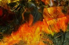 Texturera exponeringsglas Arkivbilder