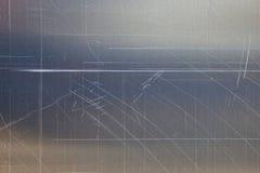 Texturera från skrapat belägger med metall royaltyfria bilder