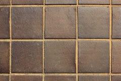 Texturera från tegelplattagolv Royaltyfri Fotografi