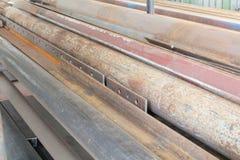 Gammalt stålsätta Royaltyfri Fotografi