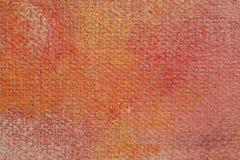 Texturera kanfasolja Royaltyfri Fotografi