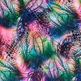 Texturera och abstrakt begrepp av gjort randig naturligt för tryck tyg Royaltyfri Foto