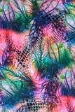 Texturera och abstrakt begrepp av gjort randig naturligt för tryck tyg Arkivbilder