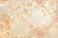 Texturera rostbakgrund, gammal metalljärnrost, rostat stål Arkivbild