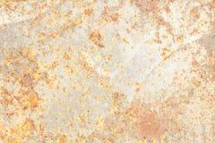 Texturera rostbakgrund, gammal metalljärnrost, rostat stål Royaltyfri Fotografi