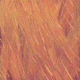 Texturerad abstrakt bakgrund för persika sand Tonat borsteslaglängdkonstverk Glitter spridde på grov yttersida royaltyfri foto