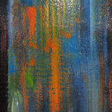 Texturerad abstrakt målarfärg Royaltyfri Bild