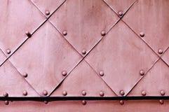 Texturerad bakgrund för metall grov grunge Arkivfoto