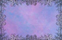Texturerad bakgrund med krusidullar royaltyfri illustrationer