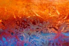 texturerad bakgrundskoppar Royaltyfria Bilder