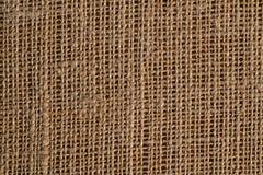 texturerad bakgrundssackcloth Royaltyfria Foton