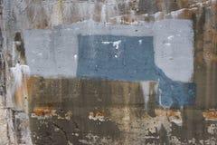 Texturerad betongvägg 0014 arkivbild