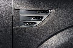Texturerad bilkarosseri Arkivbilder