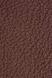 Texturerad brun läderbakgrund Fotografering för Bildbyråer