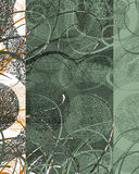 texturerad dekorswirl Royaltyfria Bilder