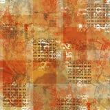 Texturerad Grunge bakgrund Stock Illustrationer