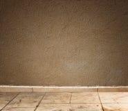 Texturerad grungevägg- och golvmodell Arkivfoton