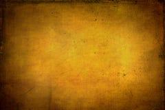 Texturerad guld- bakgrund Royaltyfria Bilder