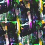 Texturerad guling, grön sömlös palettbild vektor illustrationer