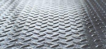 Texturerad järnbakgrund Fotografering för Bildbyråer