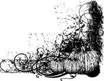 texturerad kantillustration Fotografering för Bildbyråer