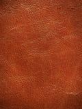 Texturerad läderbakgrund Fotografering för Bildbyråer