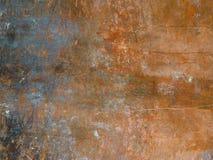 texturerad metallorrosion Arkivfoto