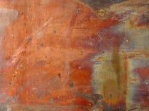 texturerad metallorrosion Arkivfoton
