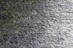 Texturerad naturlig sten för murverk royaltyfri bild