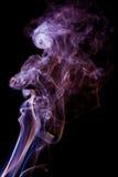 Texturerad rök, abstrakt begrepp Arkivfoto
