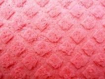 Texturerad rosa svamp Royaltyfria Bilder