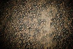 Texturerad sandjordning Royaltyfri Foto
