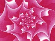Texturerad spiral blomma Royaltyfri Foto