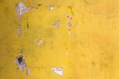 Texturerad sprucken betongvägg Java Royaltyfria Bilder