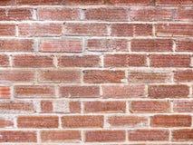 Texturerad stads- tegelsten Wallbackground Fotografering för Bildbyråer