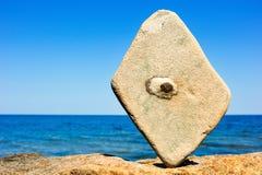 Texturerad sten Arkivbild