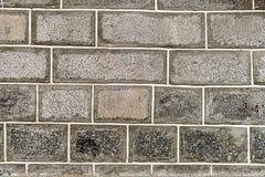 Texturerad stenvägg Royaltyfri Bild
