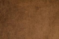 Texturerad stor brun textil för bakgrund Textur av närbilden för textiltyg royaltyfri bild