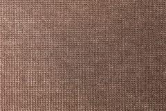 Texturerad stor brun textil f?r bakgrund Textur av n?rbilden f?r textiltyg royaltyfri fotografi