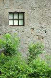 Texturerad vägg av gammal byggnad Arkivbilder