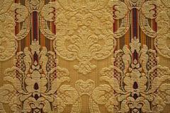 Texturerad wallpaper Arkivfoto