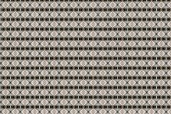Texturerade beigea Diamond Geometric Abstract Pattern royaltyfri illustrationer