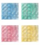Texturerar kristaller Arkivbild