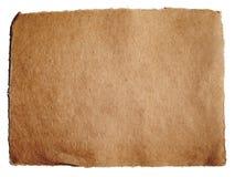 Texturerat brunt papper Arkivbild