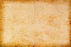 texturerat gammalt papper för bakgrund Arkivbilder
